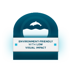 Environment-Friendly with Low Visual Impact